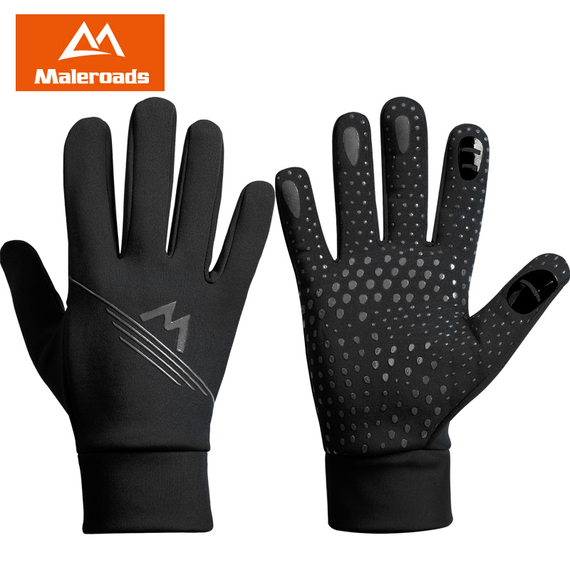 Outdoor Winter Mitten Cycling Gloves Windproof Warm Sport Full Finger Skiing Hiking Motorcycle Touch Screen Glove for Men Women