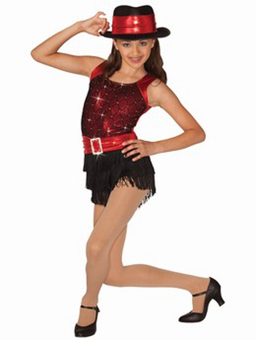 Show details for  Adult Team Tassel Jazz Dance Costume Dance Dress Street Dance Set With Hat
