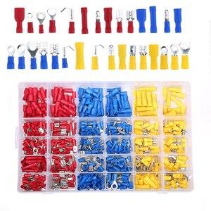 Image 2 - 480 Pcs Mixed Diverse Lug Kit Crimp Connectors Geïsoleerde Elektrische Crimp Terminals Met 30 Maten Elektrische Draad Connector Set