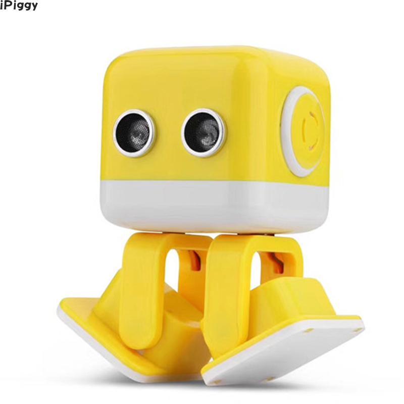 App Kontrolliertes Spielzeug Ipiggy Heiße Verkäufe Wl F9 App/radio Control Intelligente Smart Tanzen Rc Roboter Cubee Roboter Weich Und Rutschhemmend High-tech-spielzeug