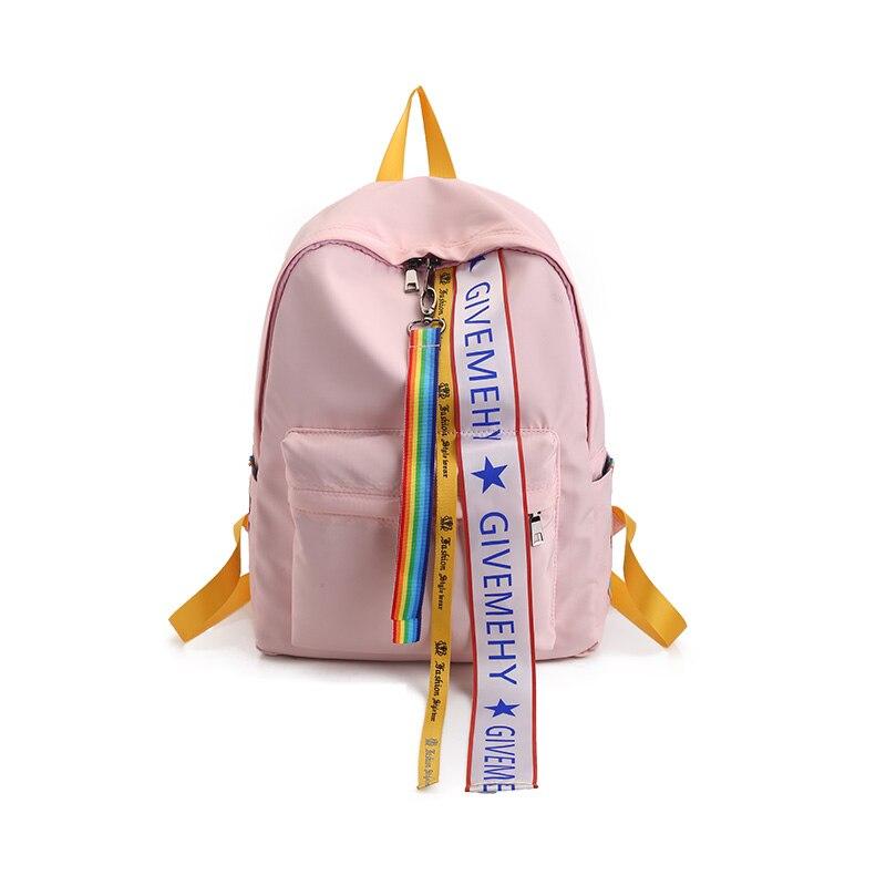 Begeistert 2019 Japanischen Mädchen Schulter Tasche Streamer Hohe Schule Studenten Tasche Weichen Schwester Wilde Freizeit Rucksack Reisetasche Flut Y275 Kunden Zuerst