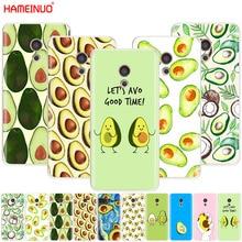 HAMEINUO милые авокадо еда крышка чехол для телефона Meizu M6 M5 M5S M2 M3 M3S MX4 MX5 MX6 PRO 6 5 U10 U20 note plus