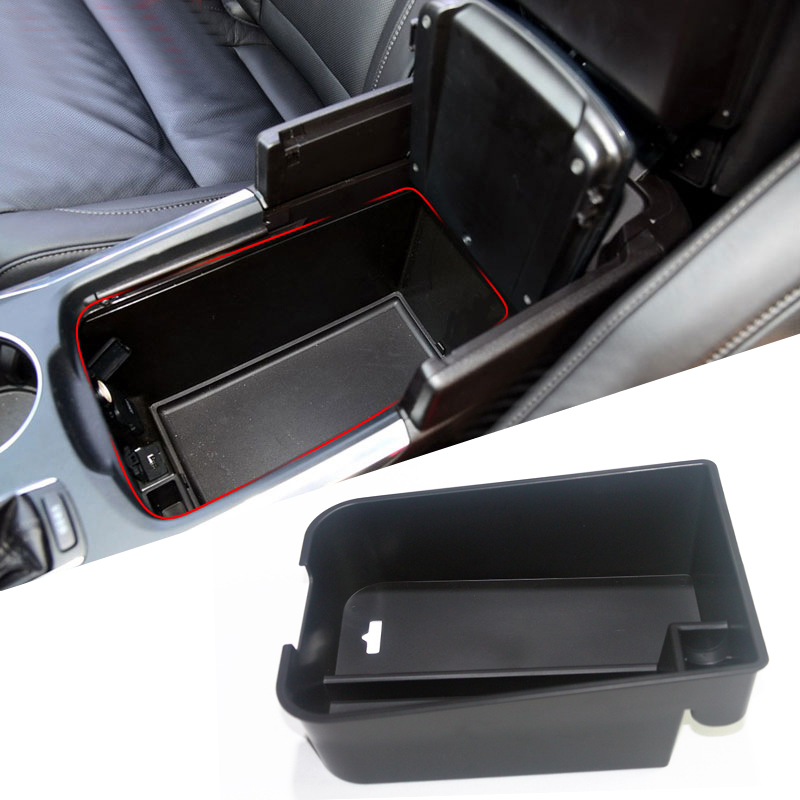 HIGH FLYING Central Armrest Storage Glove Box Organizer