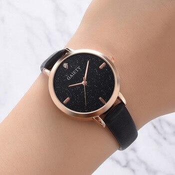 2019 Luxury Brand Women's Watch Simple Style Leather Band Quartz Watch Fashion Wristwatch Ladies Watches Clock For Women Gifts bee do kids quartz watch leather band wristwatch