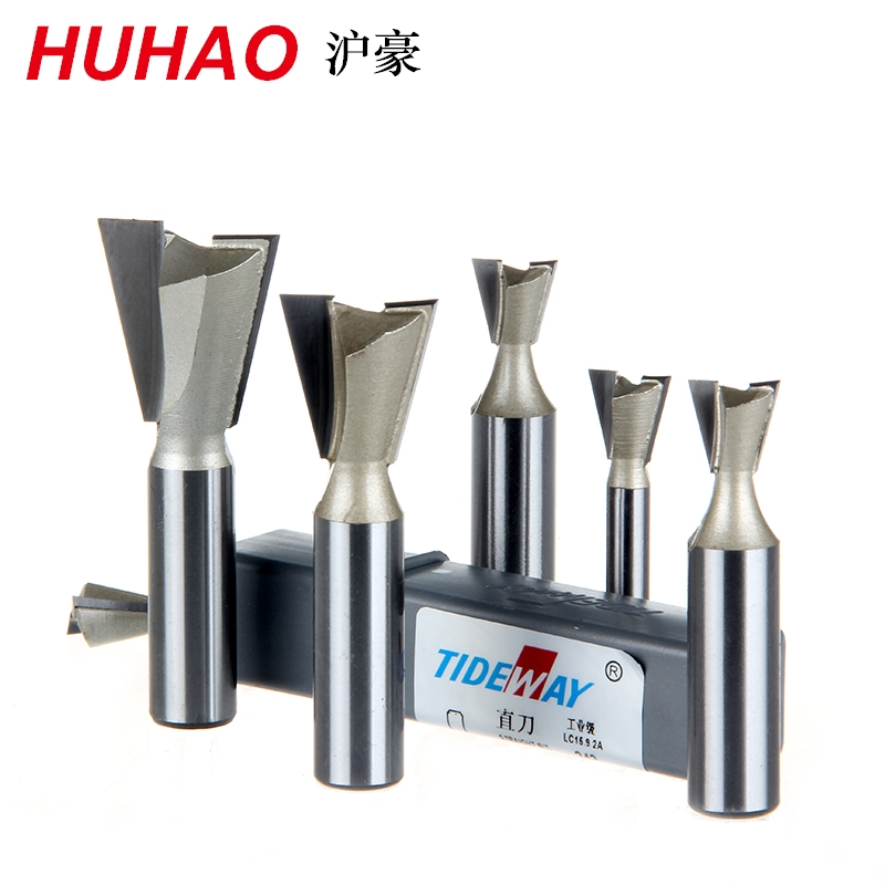 цена на 1/4*1/4 Proffesional Grade Dovetail Router Bit Mill Cutter Super Cemented Tungsten Carbide Engraving Tool Tideway 3119