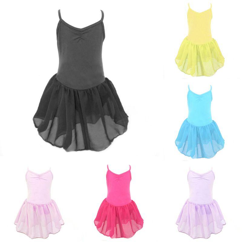 6475 Girl Kids Toddler Ballet Dance Tutu Dress Gymnastics Leotard Dancewear Outfit Dance Wear