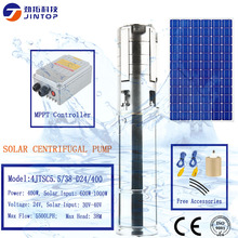 (MODEL 4JTSC5.5/38-D24/400) JINTOP 4 INCHES SOLAR CENTRIFUGAL PUMP Stainless steel 36V Solar Powered Submersible Water PUMP стоимость