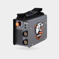 New 2017 ZX7 200MINI Mini Handheld MMA Welder IGBT AC 220V 10A 200A Portable Arc