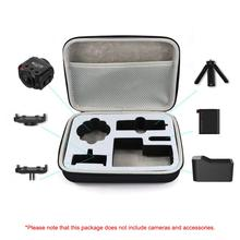 High Quality Camera Carrying Case EVA Storage Box Suitcase Sports Camera Bag For GARMIN VIRB 360 цена
