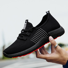 Spring Men Sneakers Breathable Men Casual Shoes Men Fashion Flats 2019 Male Shoe Adult Trainers Comfort Light Air Mesh Footwear