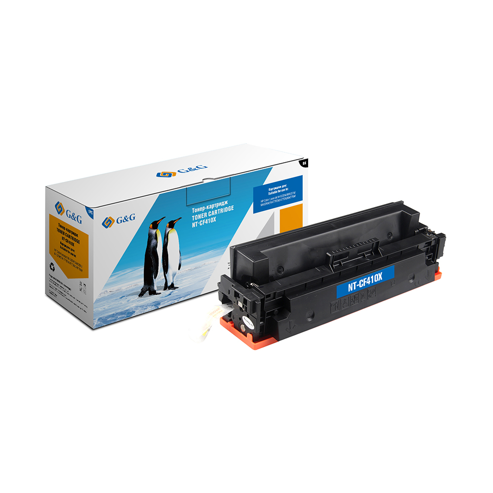 Computer Office Office Electronics Printer Supplies Ink Cartridges G&G NT-CF410Xfor HP LaserJet Color M452 dn/dw/nw M477 fdn new cyan toner compatible for hp laserjet pro cf411x m452 dn dw nw m470 tri color 5000 pages free shipping hot sale
