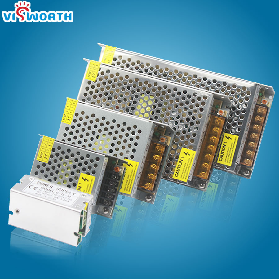 Power Adapter Power supply DC12V 2A-10A Adapter Transformer LED Strip Light