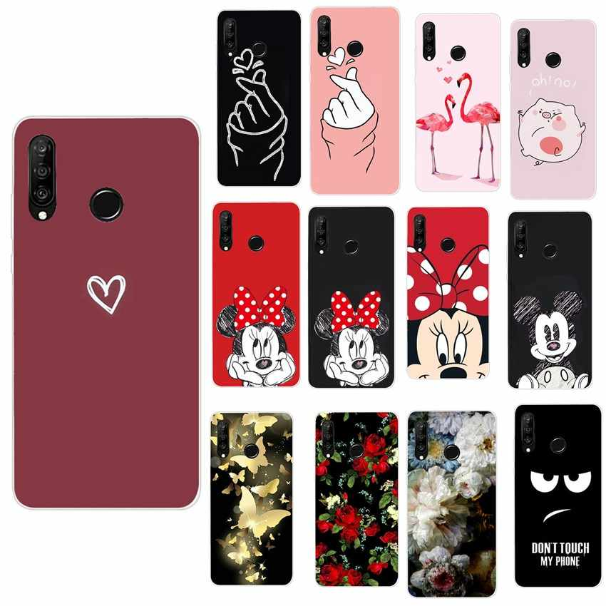 Minne For Huawei P30 Case For Huawei P30 Lite P30 Pro Case Funda For Huawei P20 Lite Mate 20 Lite Y6 2018 P Smart 2019 Cases