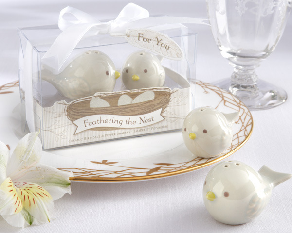 Wedding Favors Gifts 50sets=100pcs Pied Magpie Ceramic