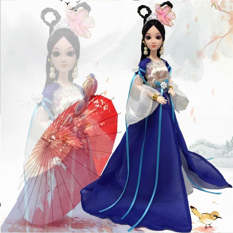 Doll Aksesuarları Cosplay Ənənəvi Çin Qədim Gözəllik - Kuklalar və kuklalar üçün aksesuarlar - Fotoqrafiya 6