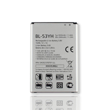3000 мАч BL-53YH Новый Оригинальный Аккумулятор Для LG G3 D858 F400 F460 D830 VS985 BL53YH BL 53YH Телефон Замена Batteria