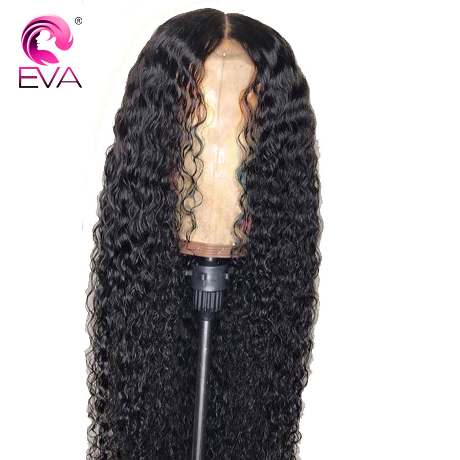 Human Hair Lace Wigs Hair Extensions & Wigs Fast Deliver Curly Full Lace Human Hair Wigs Pre Plucked Hairline With Baby Hair Brazilian Curly Lace Wig Full End Remy Hair Eva Hair 8-24 Quality First