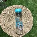 ПРИВЕТ БУТЫЛКА 500 мл МОЮ Бутылку Воды Пластик герметичность Чашка Портативный Бутылки Воды для Спорта На Открытом Воздухе Кроссовки Отдых На Природе высокое Качество