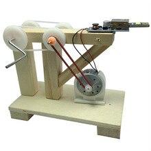 DIY Динамо Генератор Модель научный физический эксперимент инструменты наборы детей творческие образовательные