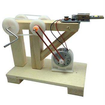 DIY Dynamo Generator Model naukowy eksperyment fizyczny zestawy narzędzi dzieci kreatywne edukacyjne tanie i dobre opinie