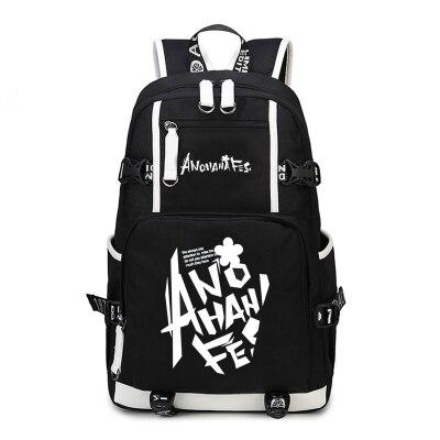 Рюкзак Anohana Menma Cosplay secret base Honma Meiko аниме Холщовая Сумка светящаяся школьная сумка дорожные сумки