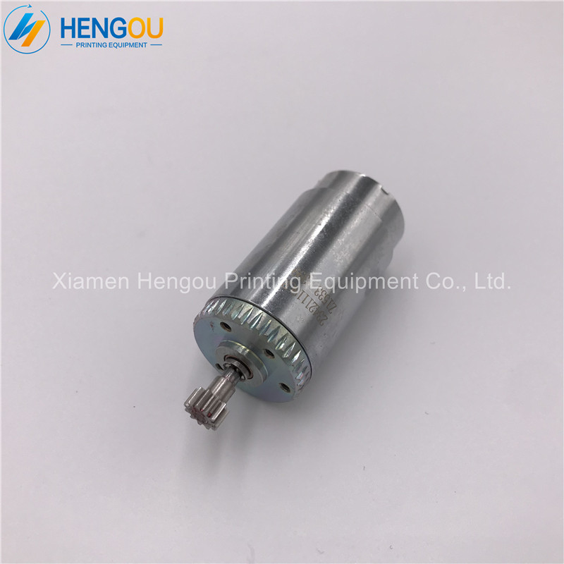 1 piece DHL free shipping offset printing machine 12 teeth small motor for L2.105.5151 71.112.1311 small motor-in Printer Parts from Computer & Office    1