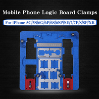A21+ Motherboard PCB Holder For iPhone 5C 5S 6G 6S 6P 6SP SE 7G 7P 8G 8P XR Logic Board Clamps For A11 Chip Repair Board|Hand Tool Sets|   -