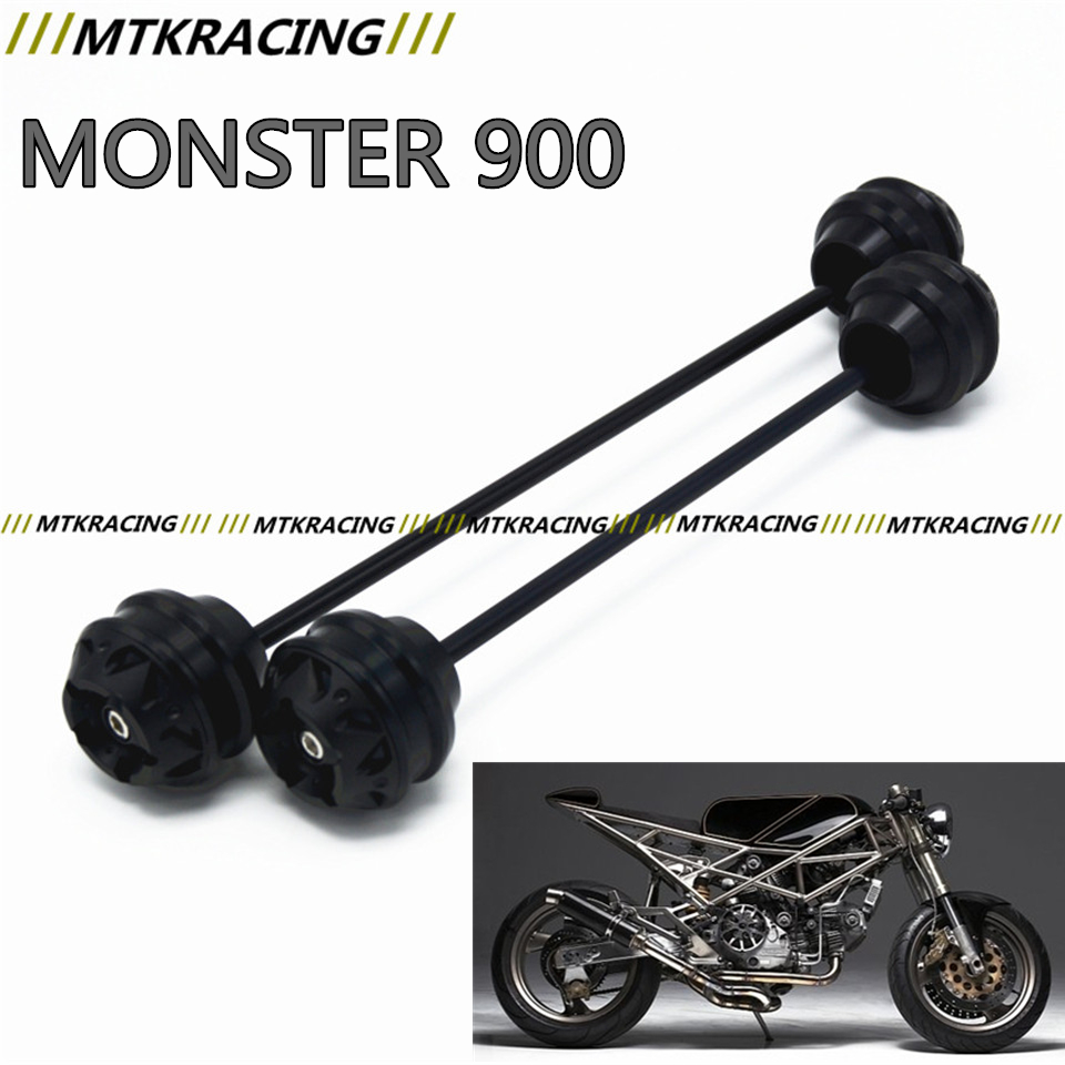 MTKRACING For Ducati MONSTER 900 2001-2003 CNC Modified Motorcycle Front and rear wheels drop ball / shock absorber free delivery for ducati monster s4r 2003 2008 cnc modified motorcycle drop ball shock absorber