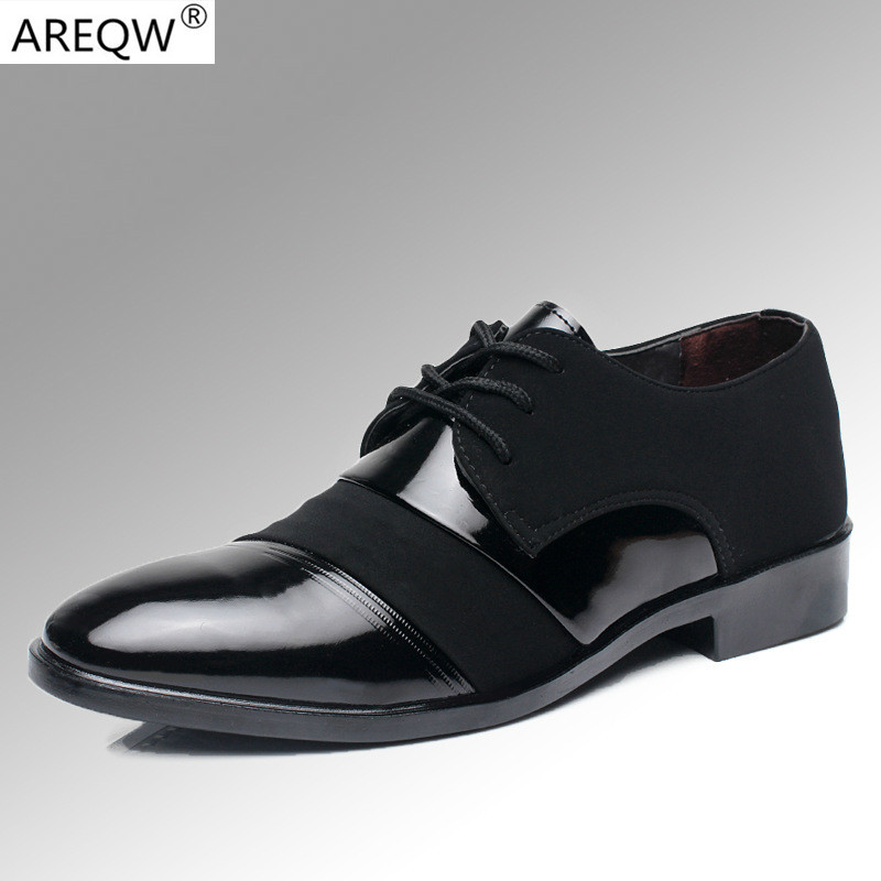 Casual Shoes Spring Male Autumn Business Suits and Pu Leather Men s Shoes Flat Shoes Work