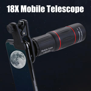 Cell-Phone-Lens Tripod Monocular Zoom Smartphone Optical Universal 18X 18x25 HD