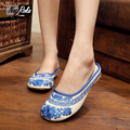 Hot sale Fashion cleated Flowers embroidery shoes women sandals retro flip flops sandals women slippers shoes mujer slides