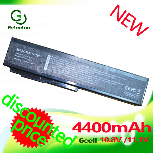 Golooloo 4400mAh Laptop Battery For Asus A32-M50 A32-N61 A32-X64 A33-M50 N50 N61 N61J N61D M50 M50S M51M60 M70 G51J