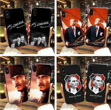 Turkey Mustafa Kemal Ataturk Case Cover for iPhone XS XR Max 7 8 6s Plus X 5s for Samsung Galaxy s8 s9 plus S7 Edge phone cases(China)
