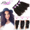 7A Brazilian hair with closure curly hair with closure Brazilian deep wave with closure 3 bundles hair with closure human hair