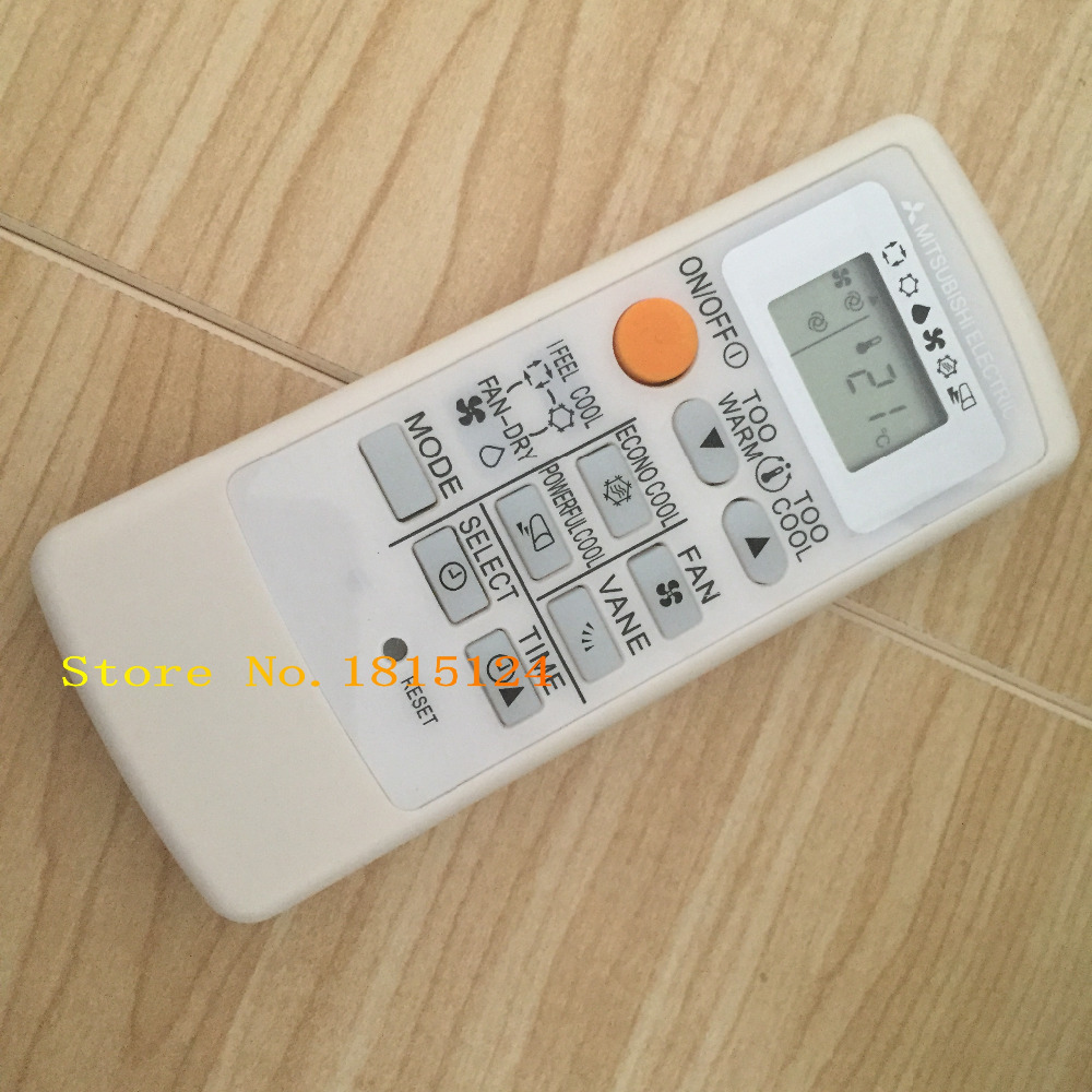 NEW General Air Conditioner remote control suitable for Mitsubishi MP04B  MP04A MP2B Air Conditioner 1PCS(1pcs/piece) It is a replacement for  Mitsubishi ...