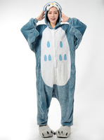 Cheap Adults Flannel Blue Pink Stitch Animal Kigurums Pokemon Owl Pig Pajamas Costume Onesie For Halloween