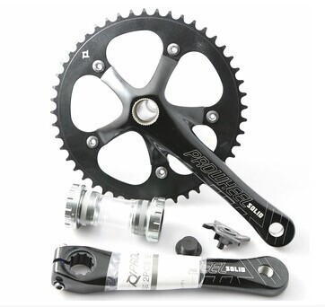 fixed gear chainwheel /PROWHEEL SOLID-246T 48T crankset /bicycle chainwheel for road bike цены