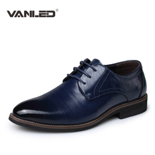 hot 2017 men genuine leather shoes business casual british men dress derby shoe luxury brand Men's oxfords california plus size
