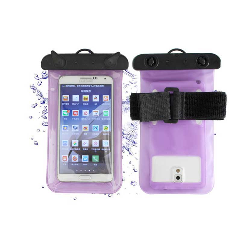 Swimming waterproof Storage package Outdoor Sea vacation Universal Waterproof Case Mobile Phone Bags with Strap Dry Pouch