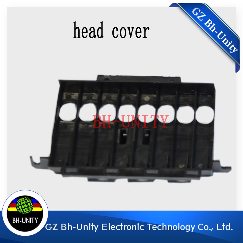Best quality!!1pc Large format solvent printer of mutoh head cover dx5 printhead pressure adapter good quality inkjet printer eco solvent dx7 printhead head cover for printer with dx7 print head