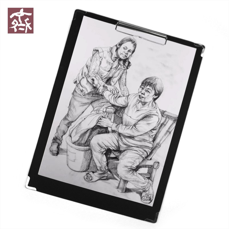 8K Black Sketchpad Clip Waterproof Sketching Board Portable Drawing Sketch Board Display File Folder Writing Pad Art Supplies new 2pcs female right left vivid foot mannequin jewerly display model art sketch