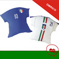 2016 Italy Soccer Jersey Pillows top PIRLO El Shaarawy Balotelli Verratti MARCHISIO National Team Football Shirts Cushion Pillow