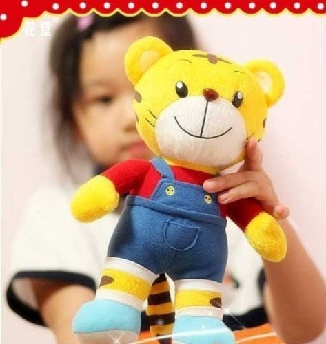 Candice guo plišane igračke punjene lutke crtani model crveni QiaoHu tigar dječji rođendanski poklon za spavanje prijatelj božićni dar 1pc