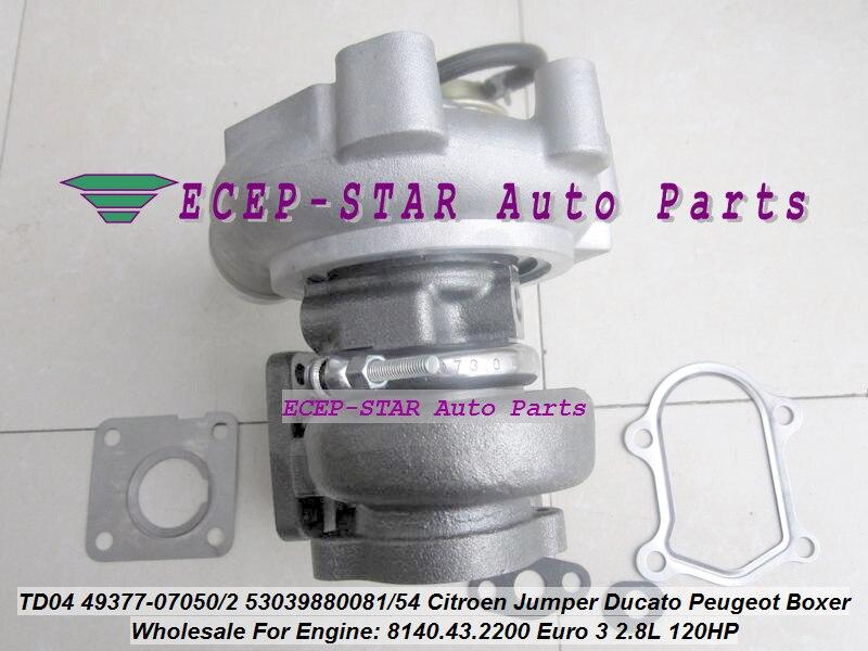 jc-Turbo TD04 49377-07050 49377-07052 53039880081 53039880054 0375F6 Turbocharger (1)