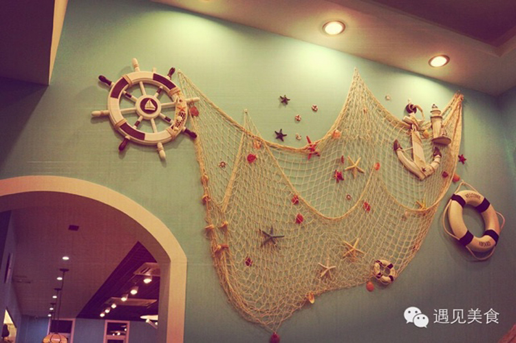 Hanging Fish Net Decoration Home Decorating Ideas