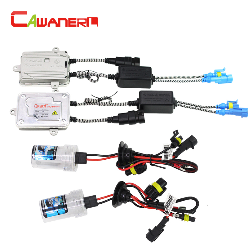 Cawanerl 55W 880 881 9005 HB3 H10 9006 HB4 H1 H3 H7 H8 H11 Auto HID Xenon Kit 8000K AC Ballast Bulb Car Light Headlight Fog Lamp
