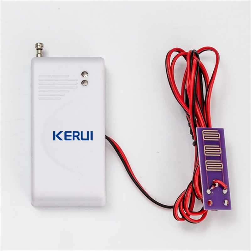 2 개/몫 무선 누수 경보 침입 감지기 누출 감지기 GSM PSTN sms와 함께 작동 홈 하우스 보안 경보 시스템
