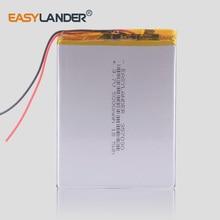 Universal inner 357090 3.7V 2500mAh Rechargeable Li-Polymer Li-ion Battery For Supra M72kg   M74cg   M727g  M728g Tablet  недорго, оригинальная цена