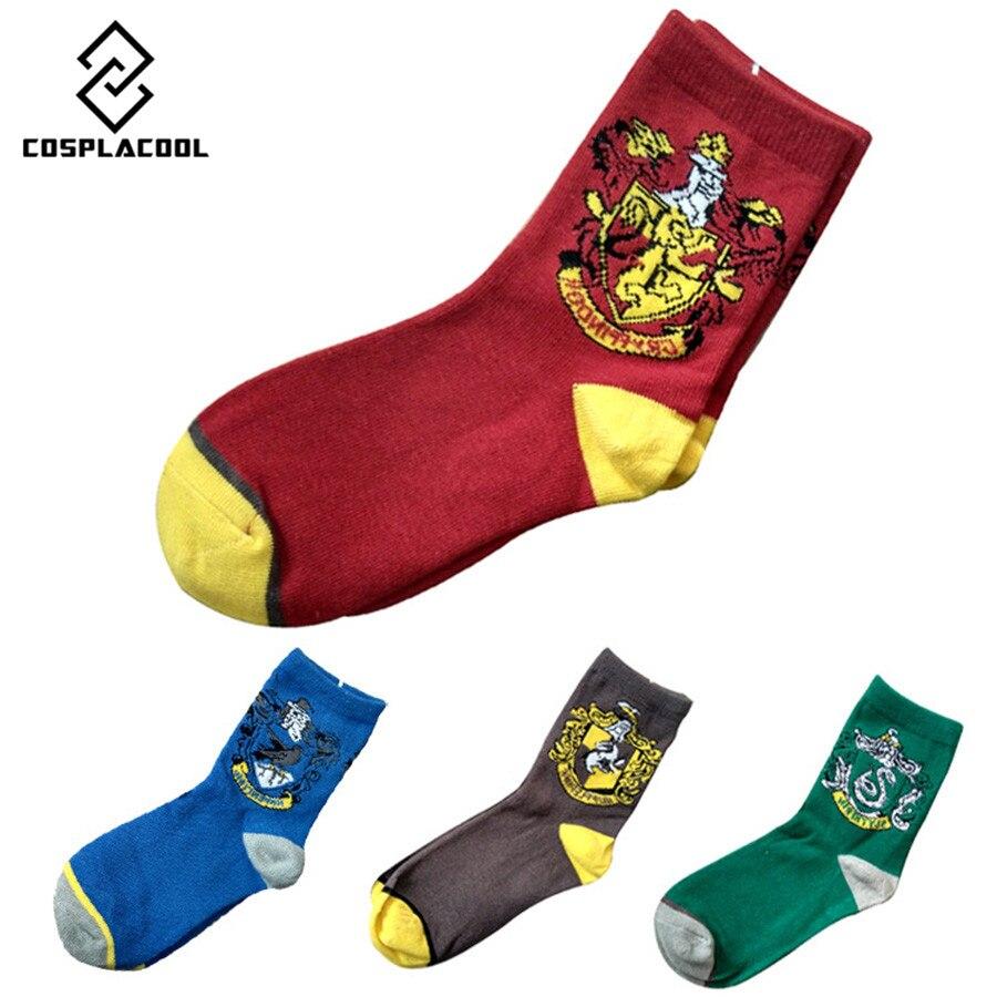 [COSPLACOOL] Хлопка Высокого Качества Гарри поттер Happy Socks Для Мужчин/дети Случайные Meias Теплые Носки Harajuku Мужская Носки Calcetines