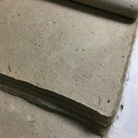100 листов традиционных решений риса Бумага Китайская каллиграфия живописи Суан Бумага длинные волокна Бумага ручной работы шелковицы коры